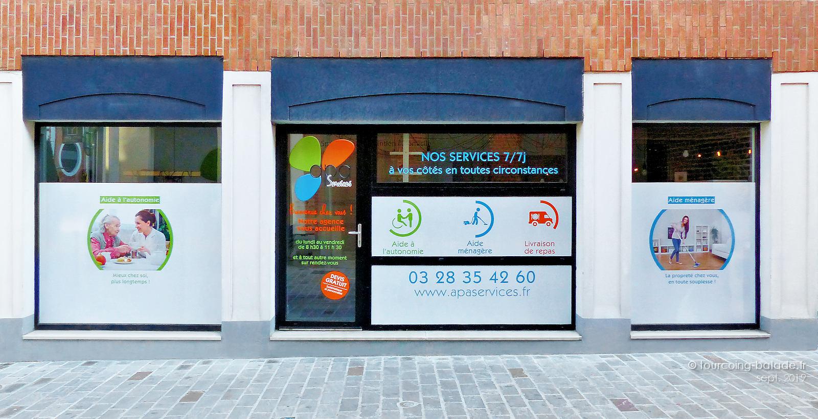 apa services - Agence de Tourcoing Centre, rue du Haze