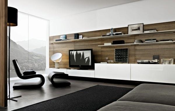 sala moderna con centro de ocio