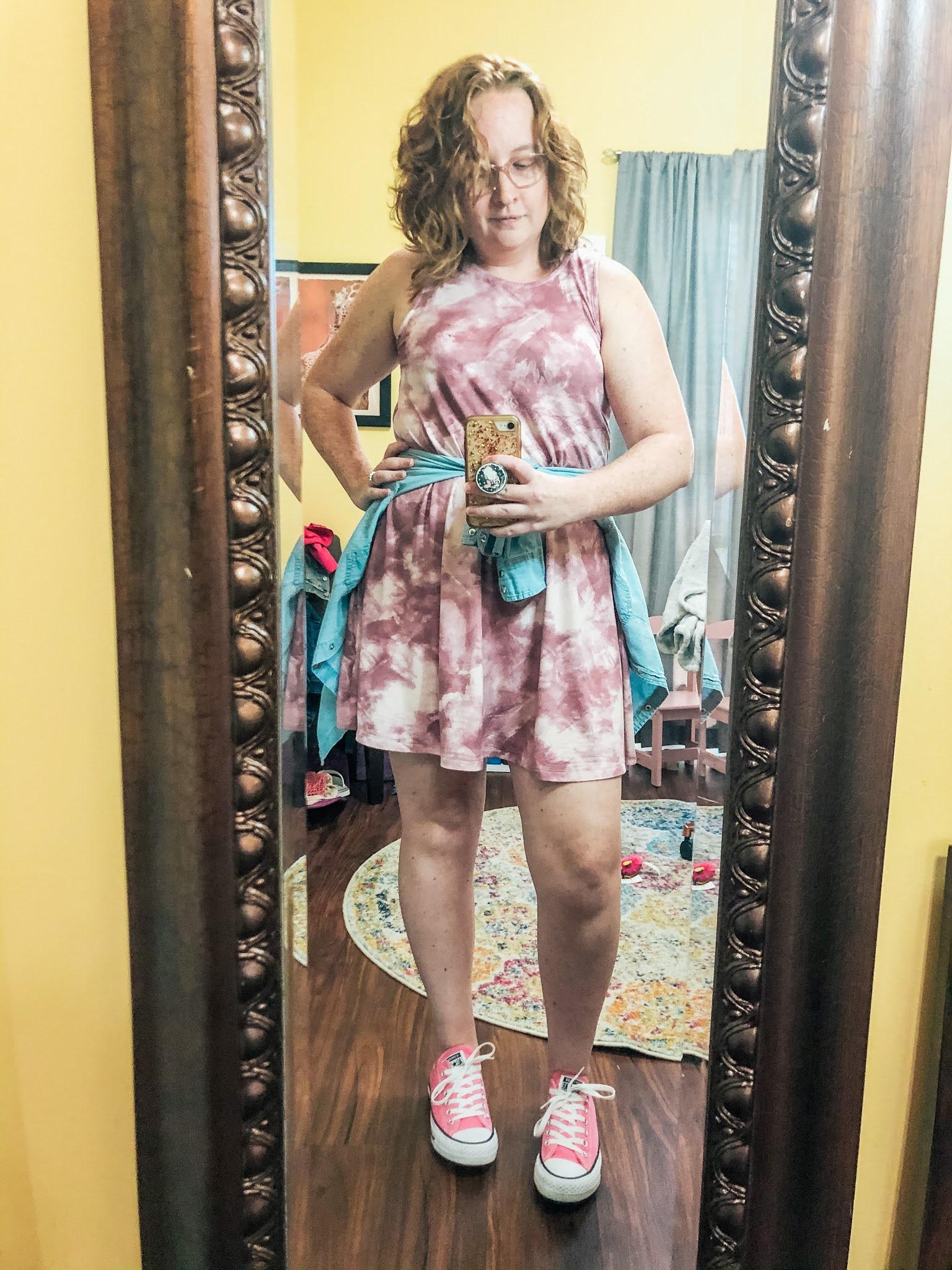 tie-dye-dress-chambray-shirt-converse