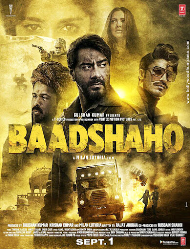 Baadshaho (2017) Movie Poster