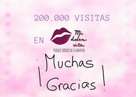 200.000 visitas midolcebelleza
