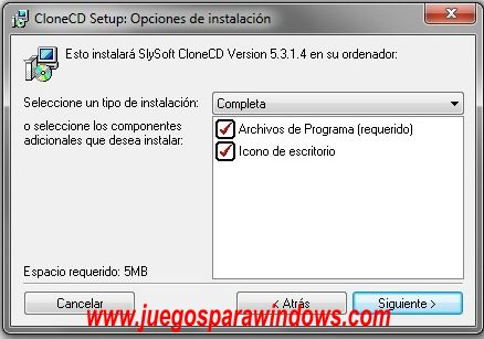 CloneCD 5 Español Full www.juegosparawindows.com