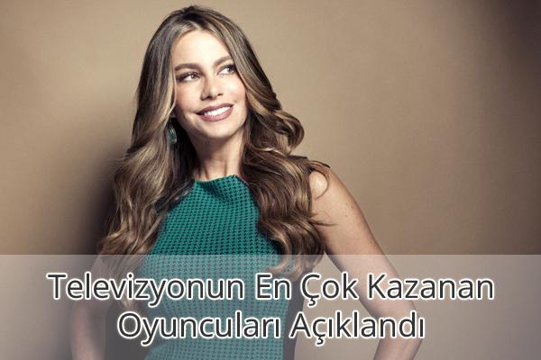 Sofia Vergara Kazancı