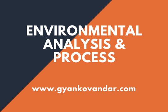 Environmental Analysis|Process of Environmental Analysis