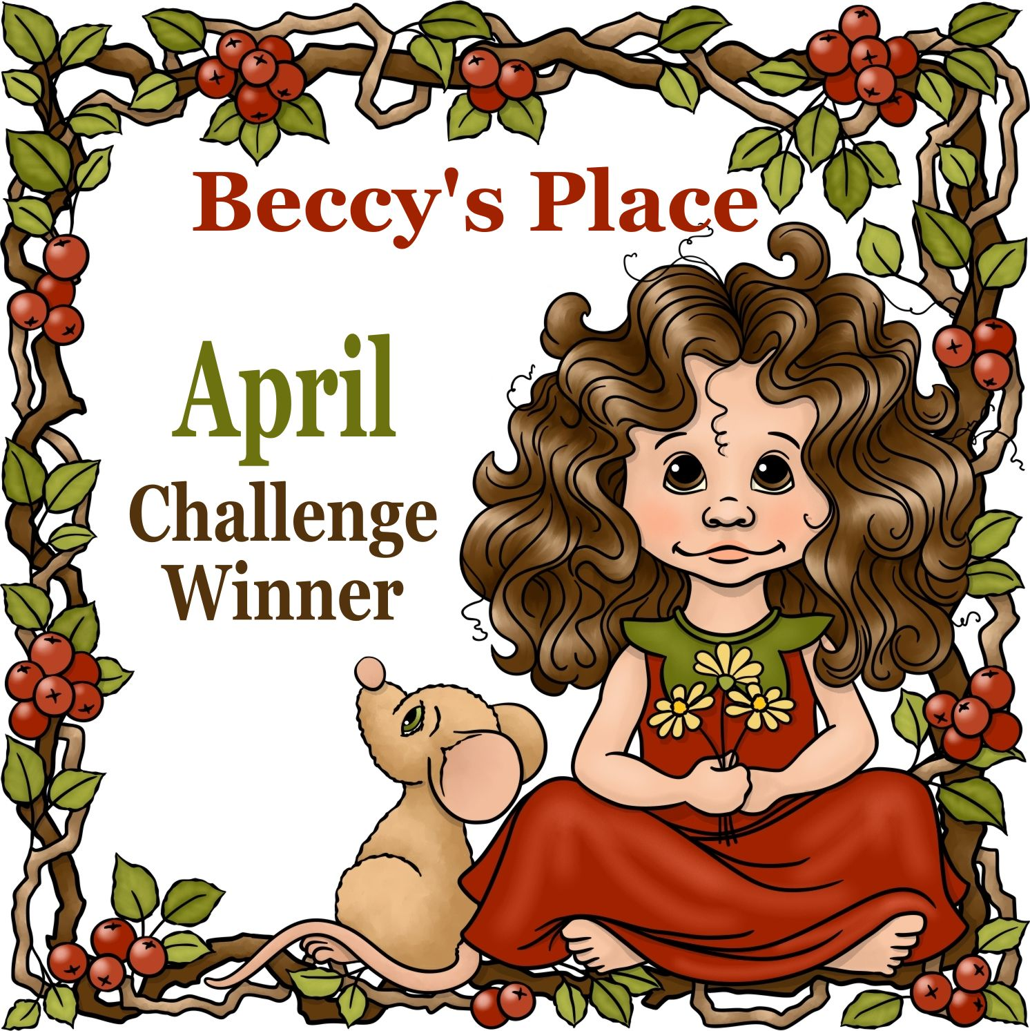 Beccy's Place: April bingo