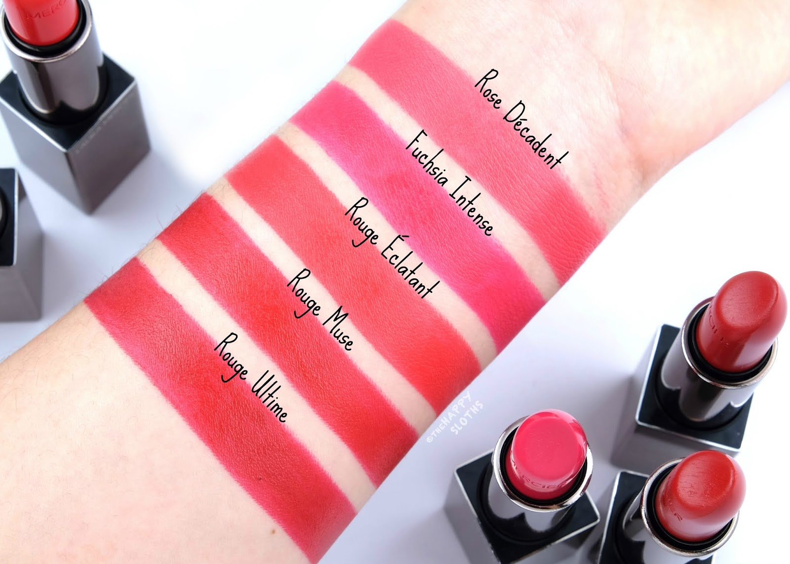 Laura Mercier | Rouge Essentiel Silky Crème Lipstick: Review and Swatches