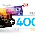 Citi Handlowy: 400 zł na zakupy w wybranych sklepach do karty kredytowej MasterCard World + zwolnienie z opłaty na zawsze