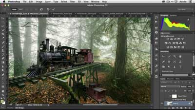 Adobe Photoshop - software laptop terbaru yang booming dan kece