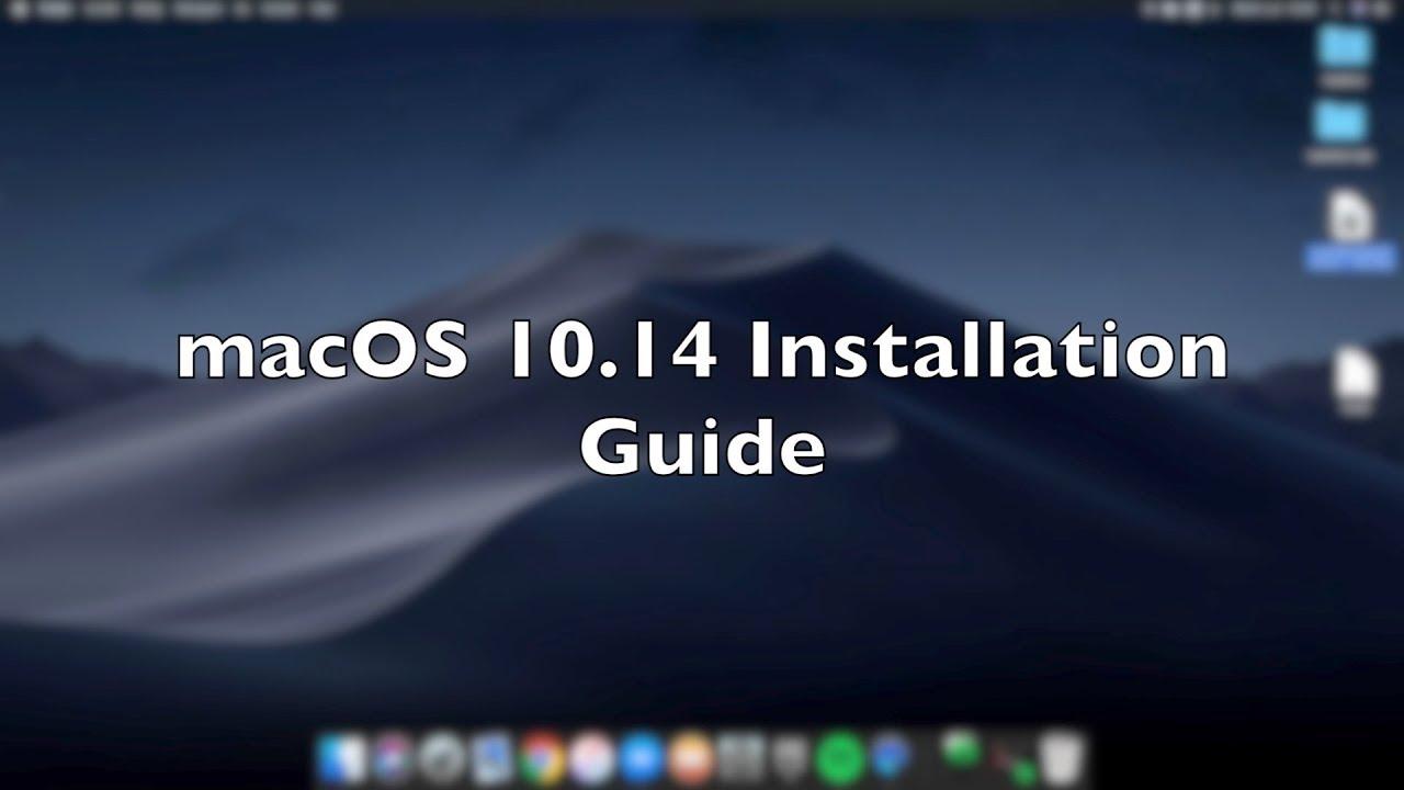 install Macos Mojave 10 14 6 on PC - www erayozturk com