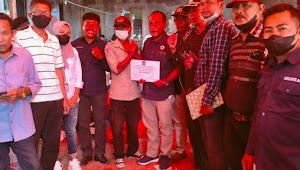 Fraksi Nasdem Kab.Bima Kunjungi Korban Kebakaran Sape Sekaligus Salurkan Bantuan