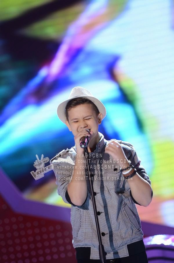 Juan Karlos Labajo sings 'Sway' on The Voice Kids Philippines Live Semi-Finals