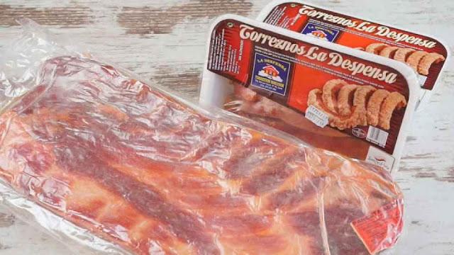 panceta adobada para hacer Torrezno de Soria