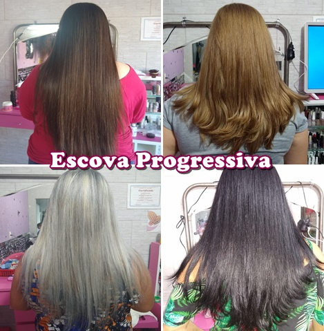 Escova Progressiva e definitiva