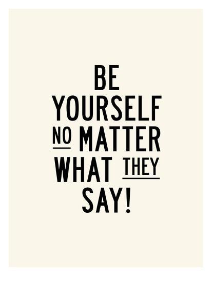 Önce Kendin Olmalısın
