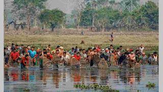 Community Fishing Jonbeel Mela