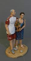statuette persone in miniatura vestiti personalizzati milano orme magiche