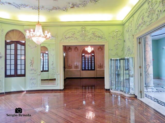 Palacete Violeta (Sala dos Pássaros e Sala Dourada)