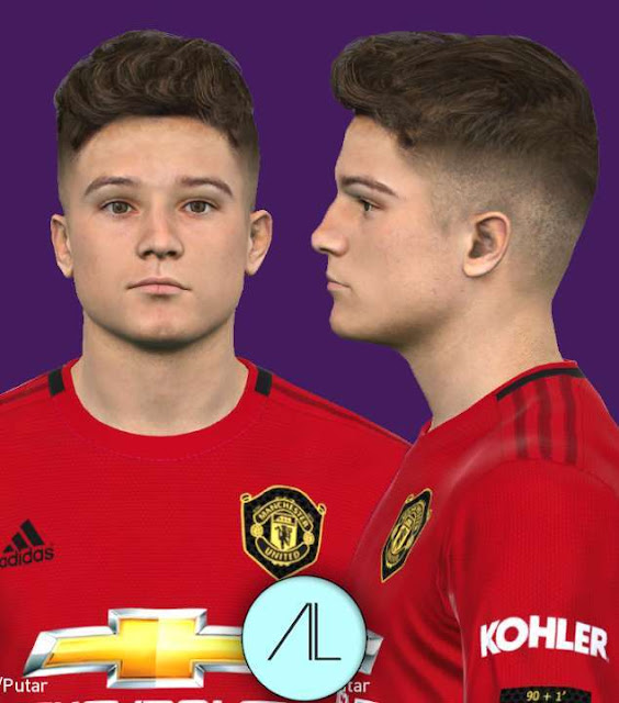 Daniel James New Face (Man United) - PES 2017 - PATCH PES