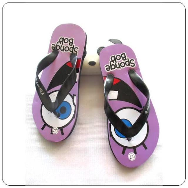 Sandal AMX spon karakter anak murah