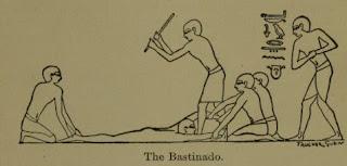 Egitto bastinado