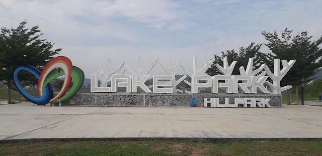 Bahagian Hadapan Taman Tasik Lake Park @ Hillpark