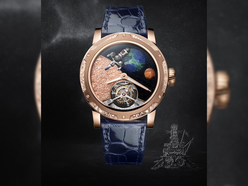 Four new timepieces from Louis Moinet for the space missions to the Moon