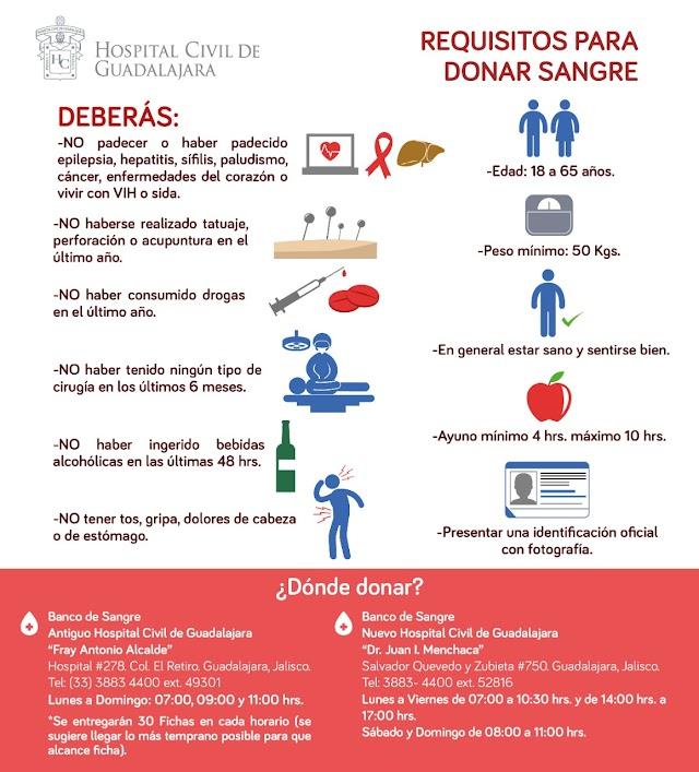 """Servicio Social de Sangre """"Urgente"""" para él paciente Sergio Javier Savala Mendoza."""