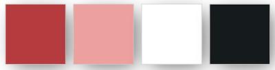 La palette de couleurs Stampin' Up! choisies