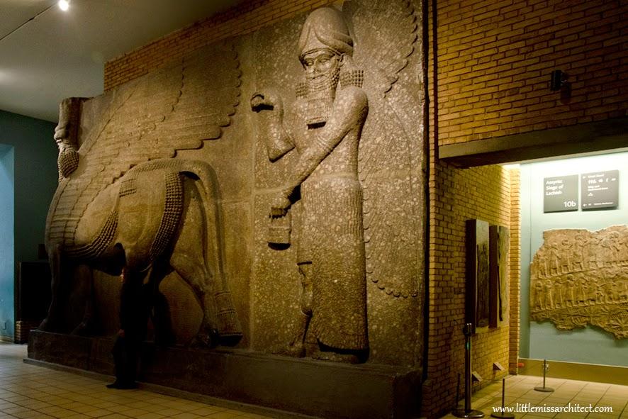 atrakcje Londynu, British Museum, Asyria