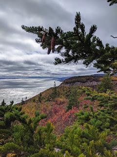 Autumn At Cape Smokey Trailhead Along The Cabot Trail, Cape Breton Island