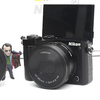 Kamera Mirrorless Nikon J5 Fullset 2nd
