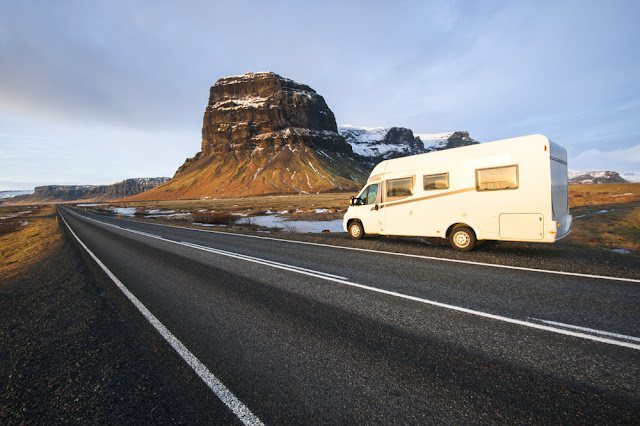 Motorhome Iceland rental advantages beautiful landscapes