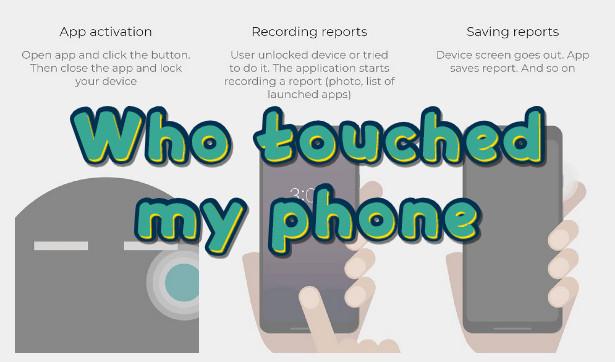 Who touched my phone - Δες σε φωτογραφία, ποιος πήγε να ξεκλειδώσει το smartphone σου...