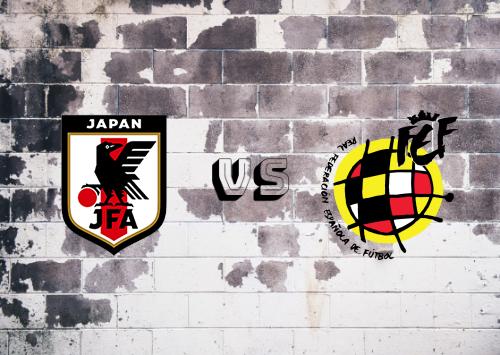 Japan vs Spain Resumen y Partido Completo
