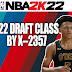 NBA 2K22 2022 Draft Class by X-2357