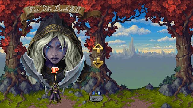 Battle Axe para Switch - Selección de personaje