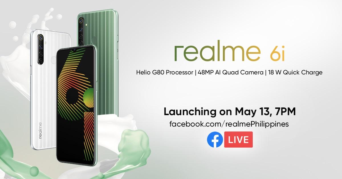 realme 6i philippine launch