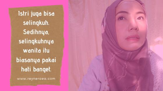 jika istri selingkuh apakah itu salah suami?