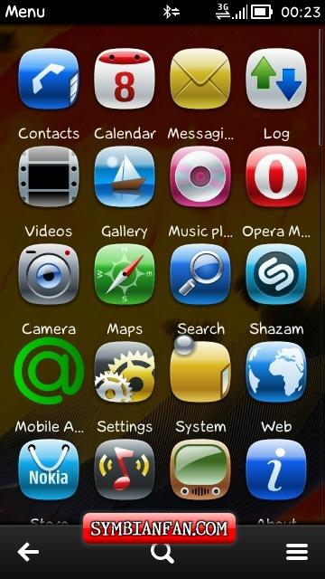 SYMBIAN APPLICATIONS & TRICKS: Extend Menu Grid 1 7 Nokia N9