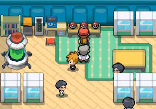 Pokemon Fire Red DS/Rojo Fuego para NDS Iniciales Laboratorio Oak