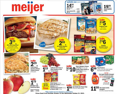 Meijer Weekly Ad October 15 – 21, 2015 | Grocery Weekly Ads