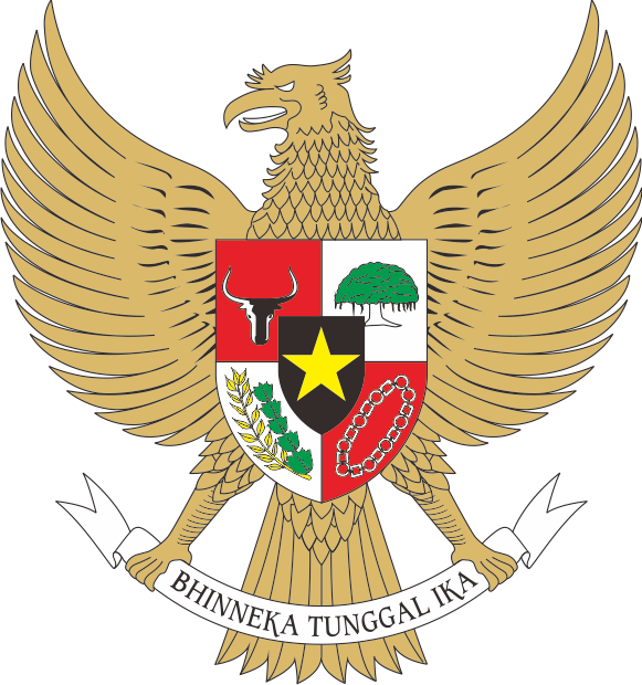 Download Lambang Garuda Pancasila Vektor Corel Draw Cecep Hm