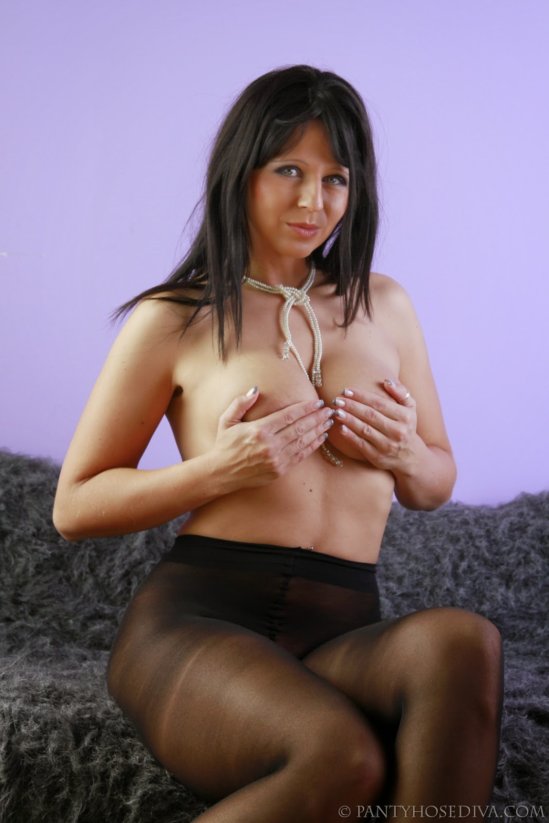 Haired Pantyhose 11