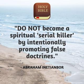false teachings and false doctrines