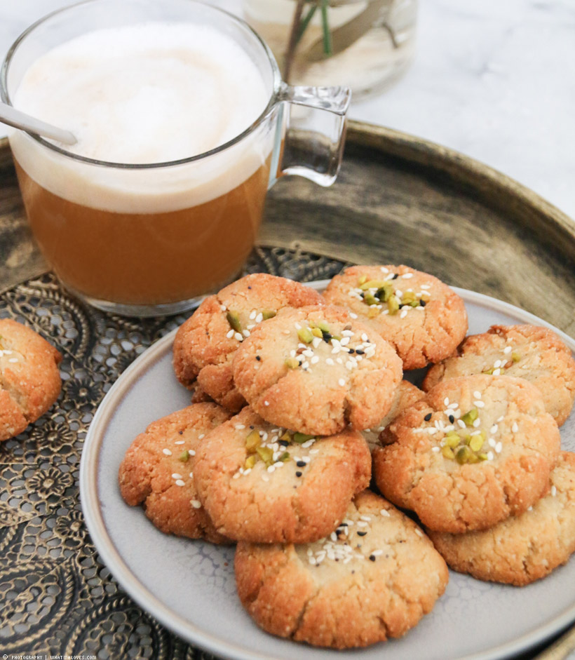 glutenfree tahini cookies