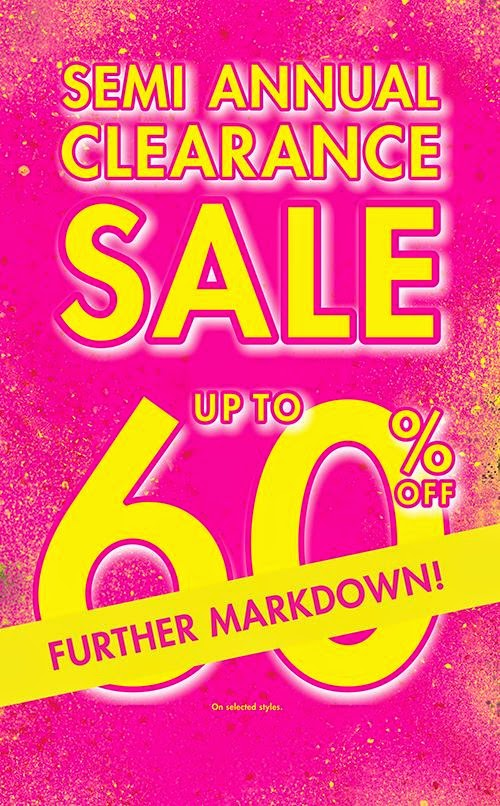 368b60bb62a7 La Senza Semi-Annual SALE on Further Markdown  July 2014