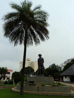 Praça Central de Palmeira das Missões