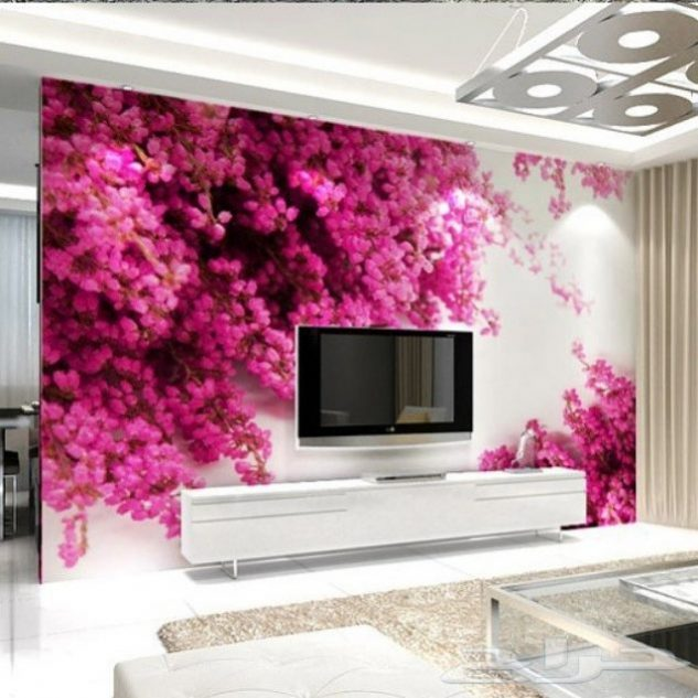 28 Fantastic 3D Wallpaper Scenery For Living Room TV Background ...