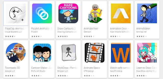 Kumpulan Aplikasi Yang Dapat Membantu Membuat Animasi Di Android - masbasyir