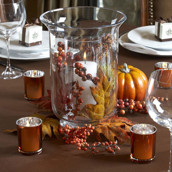 Fall Wedding Ideas Table Decorations: Autumn Wedding Centerpieces